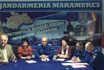 Actiuni de suflet: Jandarmeria Maramures si Ansamblul National Transilvania sprijina persoanele cu dizabilitati