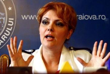 Olguta Vasilescu: Sper ca de la 1 iulie sa putem aplica noua lege a salarizarii
