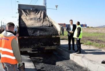 Primaria Baia Mare continua in perioada aprilie – mai lucrarile de reabilitare a infrastructurii rutiere