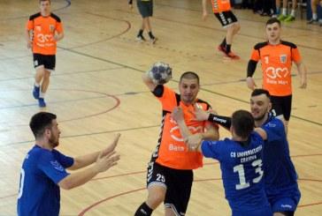 Handbal masculin: CS Minaur castiga la Craiova cu 39-26