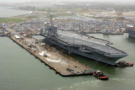 Trump vrea 12 portavioane pentru marina americana