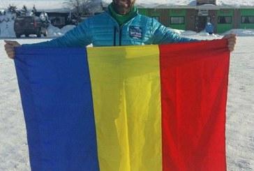 Un bistritean conduce maratonul de la Cercul Polar de Nord