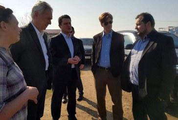 Ambasadorul SUA a vizitat HHC si mai multe locatii din Baia Mare (FOTO)