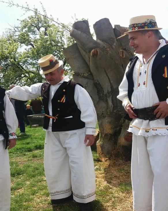"""""""Udatoriul"""" de la Surdesti: Primul gospodar care a iesit la arat, sarbatorit de intreg satul"""