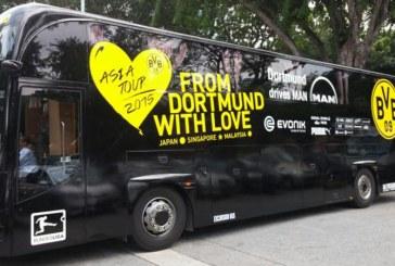 Explozii in apropierea autocarului echipei de fotbal Borussia Dortmund
