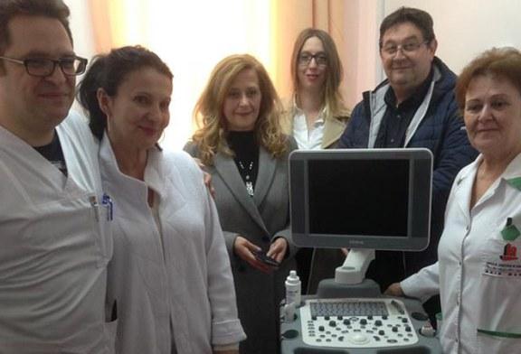 """Ecograf de 20.000 de euro pentru sectia de Neurologie, donat de Asociatia """"Prietenii Spitalului"""""""