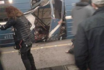 ALERTA  Rusia: Explozie in metroul din Sankt – Petersburg, soldata cu cel putin 10 victime
