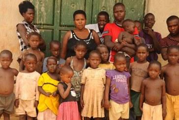 O femeie din Uganda are 38 de copii la varsta de 37 de ani