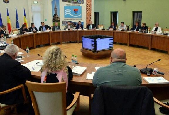 17 proiecte de hotarare adoptate de plenul Consiliului Judetean in sedinta extraordinara