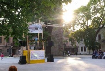 Zilele Maramuresului: Piata Cetatii a fost impanzita, aseara, de baimareni. DJ Nookie si DJ neprevazutu au facut atmosfera