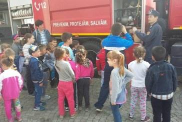 De 1 iunie, pompierii baimareni vor fi alaturi de copii. Vezi unde vor fi prezenti cu autospeciala