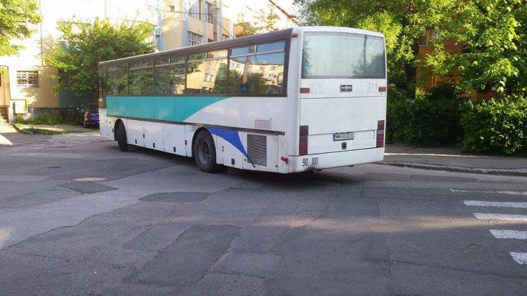 Autobuzul groazei: O soferita din Baia Mare a trait momente de spaima