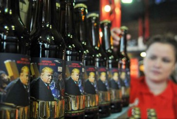 """O braserie din Ucraina a lansat o marca de bere """"Trump"""""""