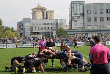 Rugby: CSM Stiinta Baia Mare – Timisoara Saracens 22-3, intr-un meci restanta din SuperLiga