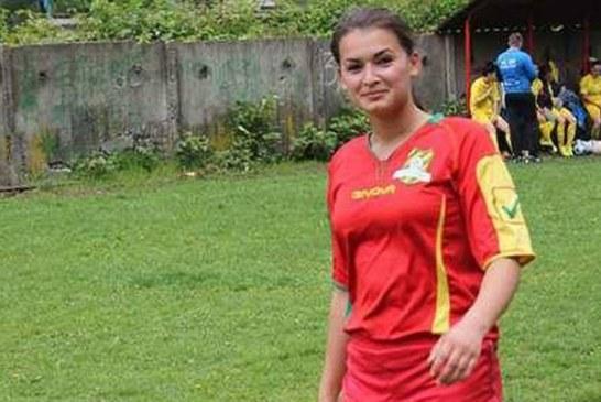 "Cochetarie feminina: ""Diana Maris, fotbalul este tot!"" (FOTO)"