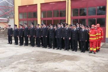 65 ani de la infiintarea Sectiei de Pompieri de la Viseu de Sus