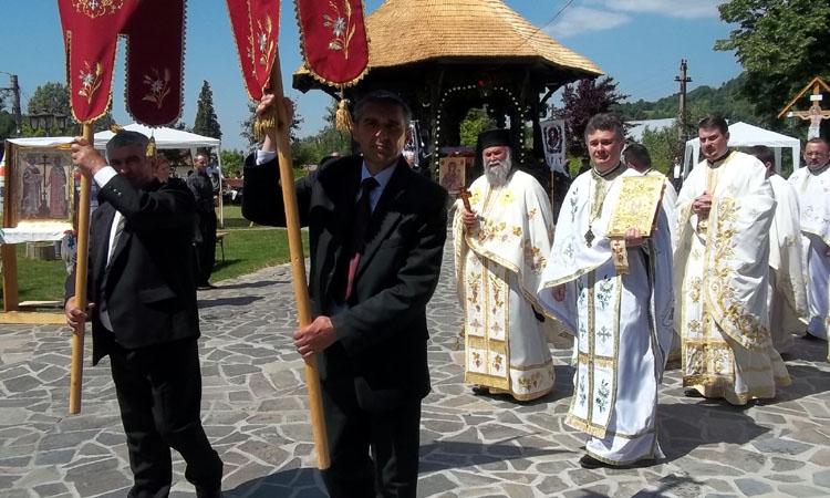 """De """"Sfintii Imparati Constantin si Elena"""", Bisericuta de lemn din Baia Sprie isi serbeaza hramul"""