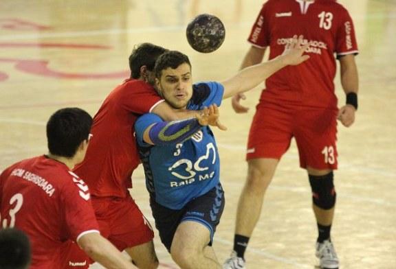 Handbal: Minaur joaca, astazi, in deplasare la Sighisoara