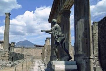 Un artefact datand de acum aproximativ 2.500 de ani, furat de la o expozitie din Pompei