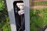 Accident și la Sarasău: A intrat într-un stâlp de electricitate
