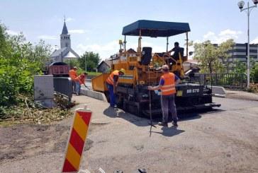 Strada Industriei din Baia Mare a intrat in reabilitare (VIDEO&FOTO)