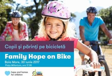 Family Hope on Bike – Copii si parinti pe bicicleta