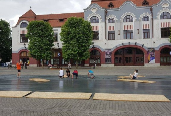 "Au inceput pregatirile pentru ""Baia Mare Beach Handball Challenge"" (FOTO)"