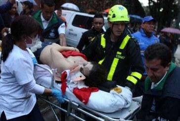 (Galerie Foto)Atac terorist: Explozie la un centru commercial din Columbia. Cel putin 3 femei au murit, 11 raniti