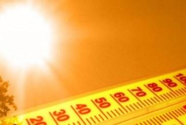 Joi: Cinci judete sub Cod portocaliu de canicula si disconfort termic. 33 de judete, atentionate cu Cod galben