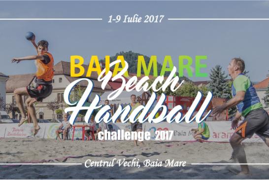 """Plaja de la munte se intoarce pentru o noua editie """"Baia Mare Beach Handball Challenge"""""""