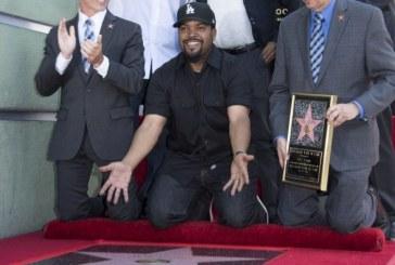 Ice Cube a primit o stea pe Hollywood Walk of Fame
