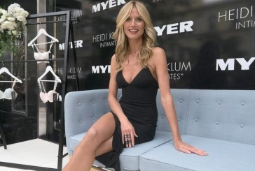 O colectie de fashion semnata de Heidi Klum va fi disponibila intr-un lant german de magazine in Europa si Statele Unite