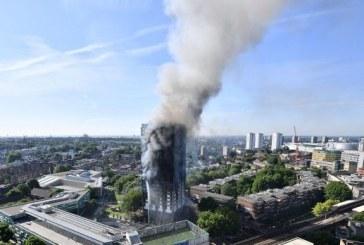 Incendiu la Londra: Numarul persoanelor presupus decedate a ajuns la 58