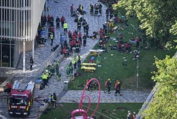 (Foto)Mai multi morti si peste 50 de raniti la Londra, in urma incendiului care a cuprins Grenfell Tower