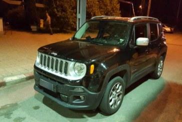 Italian cercetat penal pentru tainuirea unui Jeep Renegade, cautat in Germania. Masina a fost sechestrata la Petea