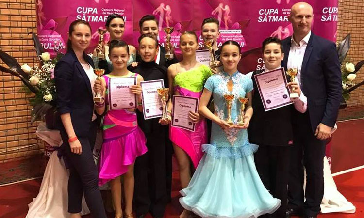 62 de medalii a cucerit Prodance 2000 in prima parte a anului competitional 2017