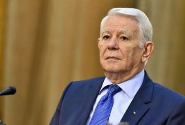 Teodor Melescanu a demisionat de la sefia Senatului