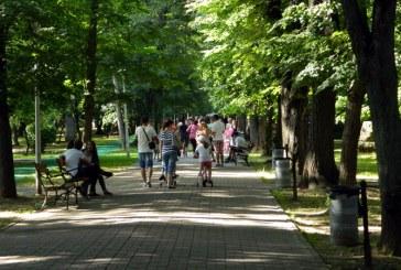 Ziua Copilului: Parcul Municipal, luat cu asalt de baimareni (FOTO)