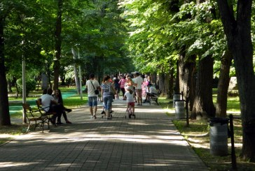 "Baia Mare: Promenada de vis, in parcul dominat de miresme ieftine si aere de ""telectuali"""