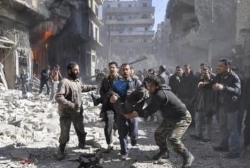 ONU: Peste 133.000 de persoane au parasit enclava siriana Ghouta Orientala in decurs de patru saptamani