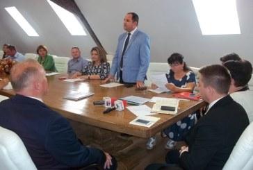 Alin Sebastian Barda a fost investit primar al orasului Baia Sprie