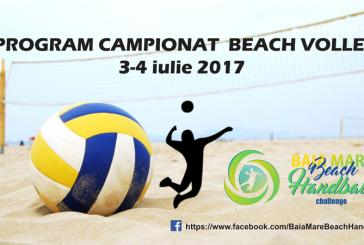 Beach Volley in Baia Mare in perioada 3-4 iulie. Vezi programul