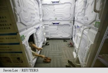China: Angajatii obositi isi pot face siesta in capsule similare celor din navele spatiale