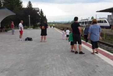 (Foto) Lucrari finalizate in Statia CFR Baia Mare