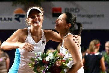Tenis: Irina Begu si Sara Errani au castigat titlul in proba de dublu la Tianjin