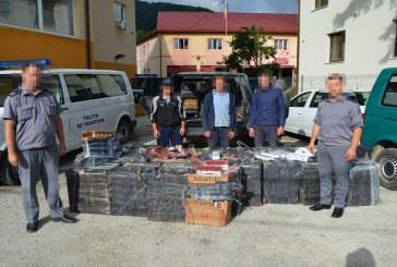 Carausi opriti cu focuri de arma la frontiera de stat, in dreptul localitatii Borsa