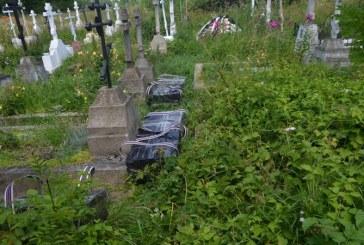 Politistii de frontiera au descoperit intr-un cimitir peste 13.000 de pachete cu tigari de contrabanda