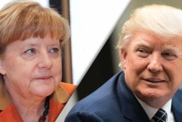 """Donald Trump o felicita pe Angela Merkel pentru un summit G20 """"fantastic"""", in pofida manifestatiilor"""