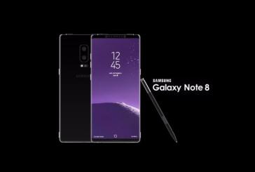 Samsung a prezentat miercuri telefonul Galaxy Note 8 , cu care incearca sa depaseasca criza bateriilor