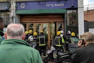 Trei raniti intr-un restaurant londonez in urma contactului cu o substanta livrata intr-un plic